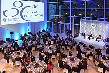 US Institute of Peace 30 Years of Peacebuilding Event Oct 2015