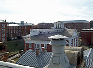 Views of former state hospital in Staunton, VA