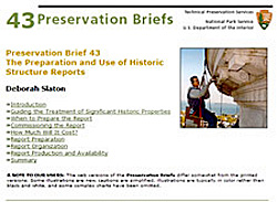 Preservation Brief 43