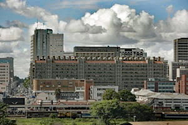 Eastgate Centre skyline, Zimbabwe