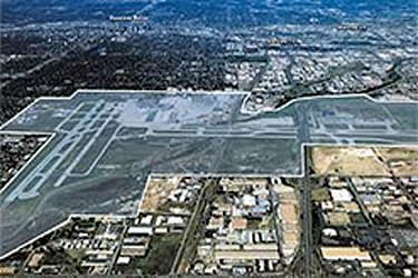The decommissioned Stapleton Airport in Denver, CO before redevelopment