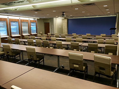 Photo of training room.