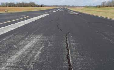Examples of concrete and asphalt failure issues
