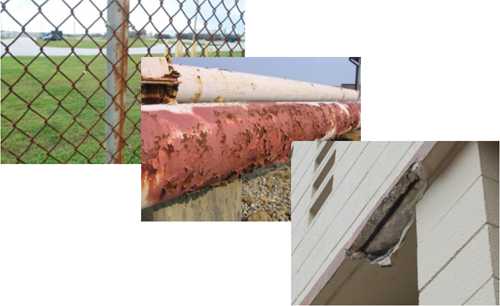 Examples of corrosion</p> </div> <p>