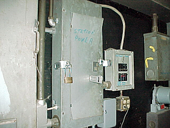 electrical panel damage
