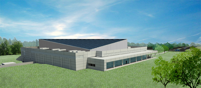 Rendering of Emerson Data Center