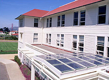 Photo of the Thoreau Institute of Sustainability at the Presidio, San Francisco, CA