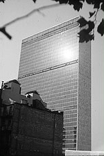 Photo of United Nations Secretariat, New York