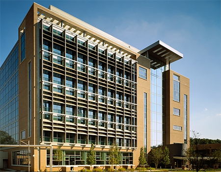 Photo of the exterior of Building 110, Centers for Disease Control and Prevention-Atlanta, GA