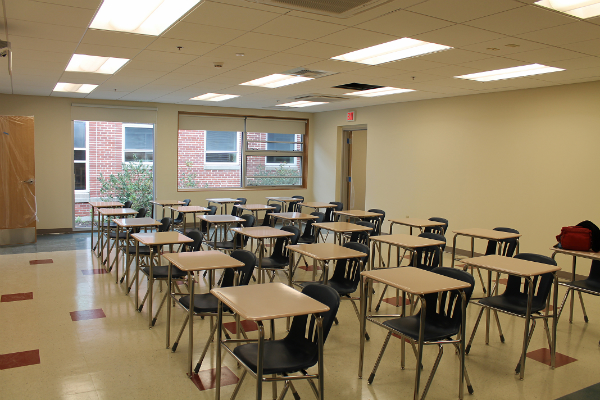 Photos of classrooms