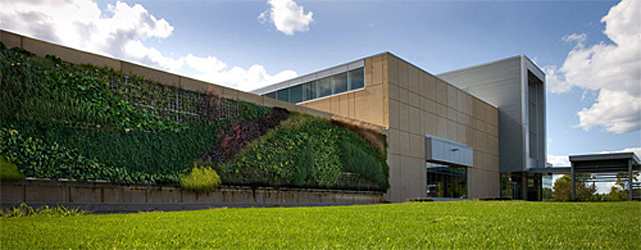 Exterior photo of the Centre for the Built Environment, Nova Scotia