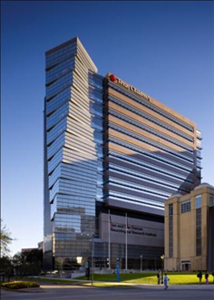 exterior photo of the Texas Children's Hospital Neurological Research Institute