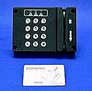 swipe reader combination keypad security system