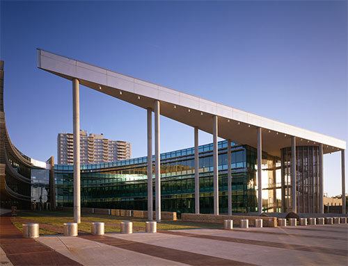 the new Oklahoma City Federal Building