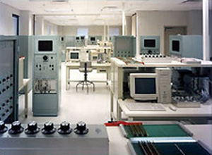 Nuclear reactor training laboratory at the Naval Nuclear Power Training Center