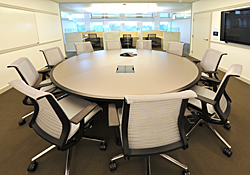 small conference room in the Institute of Peace, Washington, DC