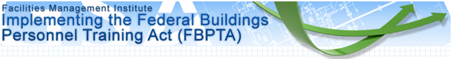 Federal Buildings Personnel Training Act (FBPTA) Logo